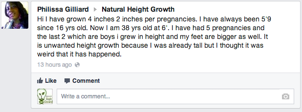 Height Increase In Pregnancy